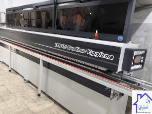 ماكينة لصق شريط PVC