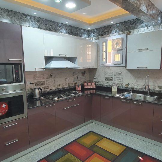 مطابخ لامي جلوس - مطبخ كود 201
